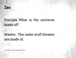 universe&dreams
