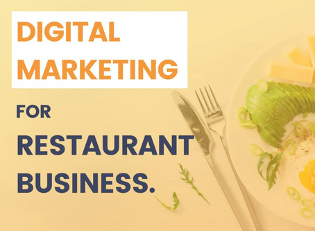 4 Step Digital Marketing for your Food Business