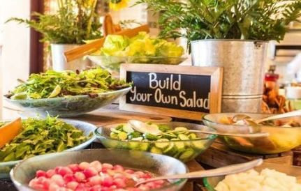 DIY Salad Bar. Img Courtesy Pinterest
