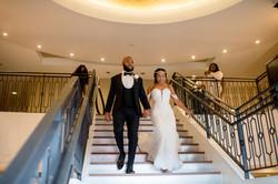 Grand Entrance at Fervent Designs Wedding