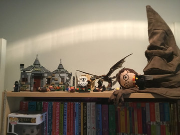 Abbie's Harry Potter stash