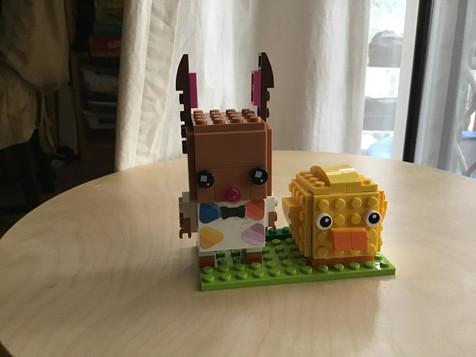 Grace's Easter Brickheadz