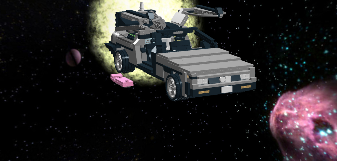 Marty Mcfly's Delorian by Lucas