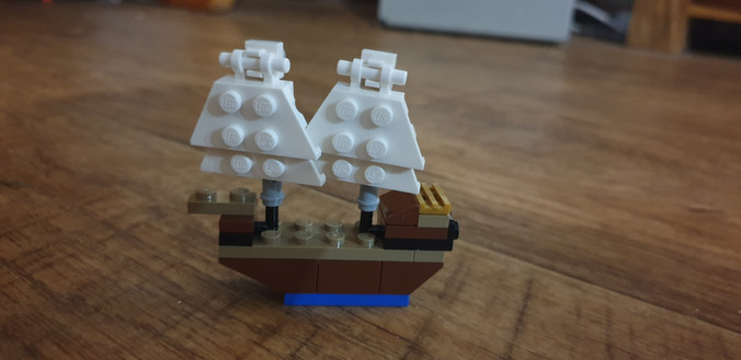 Hamish's Pirate Ship