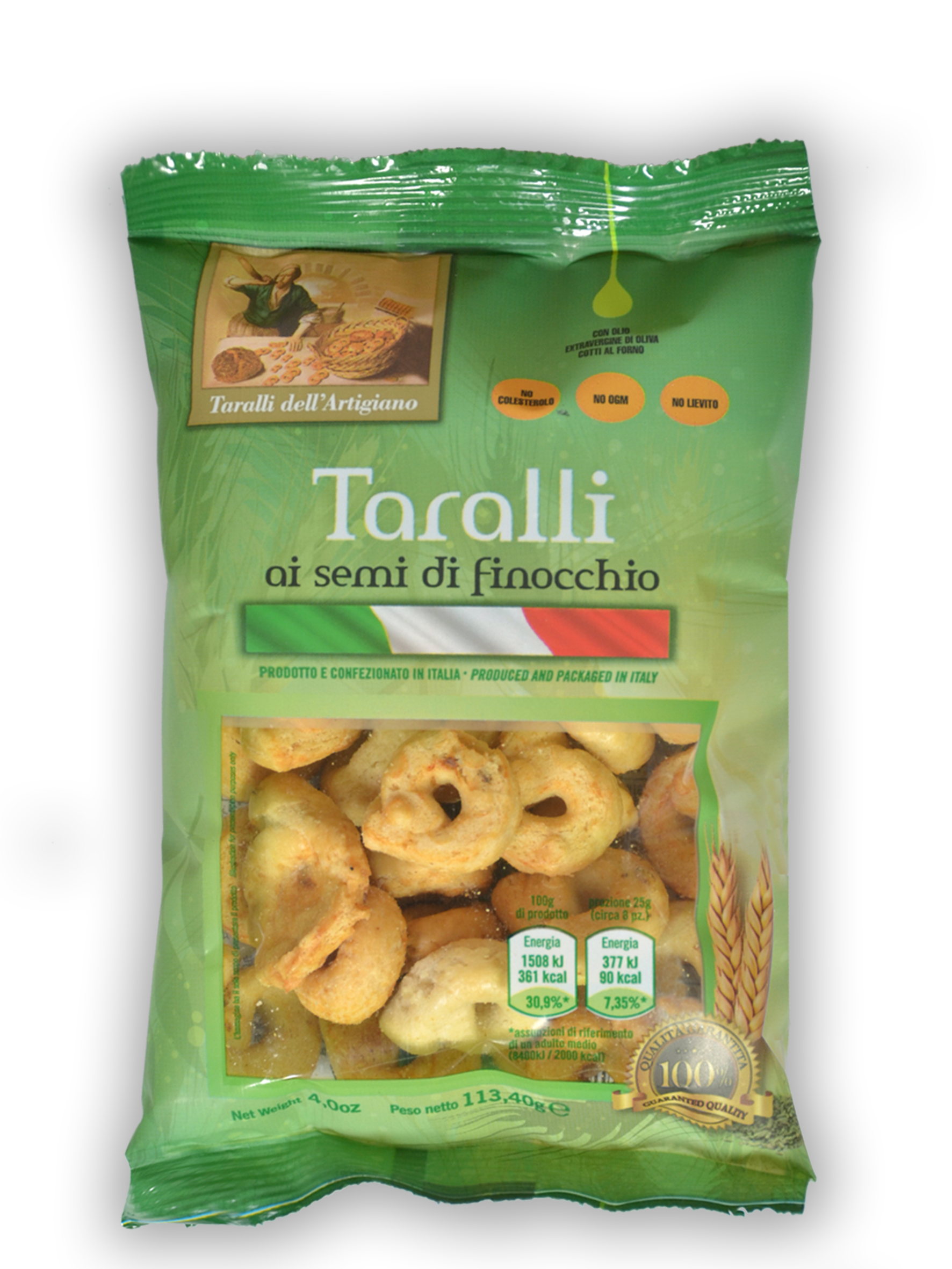 Taralli Friabili (with fennel seeds)