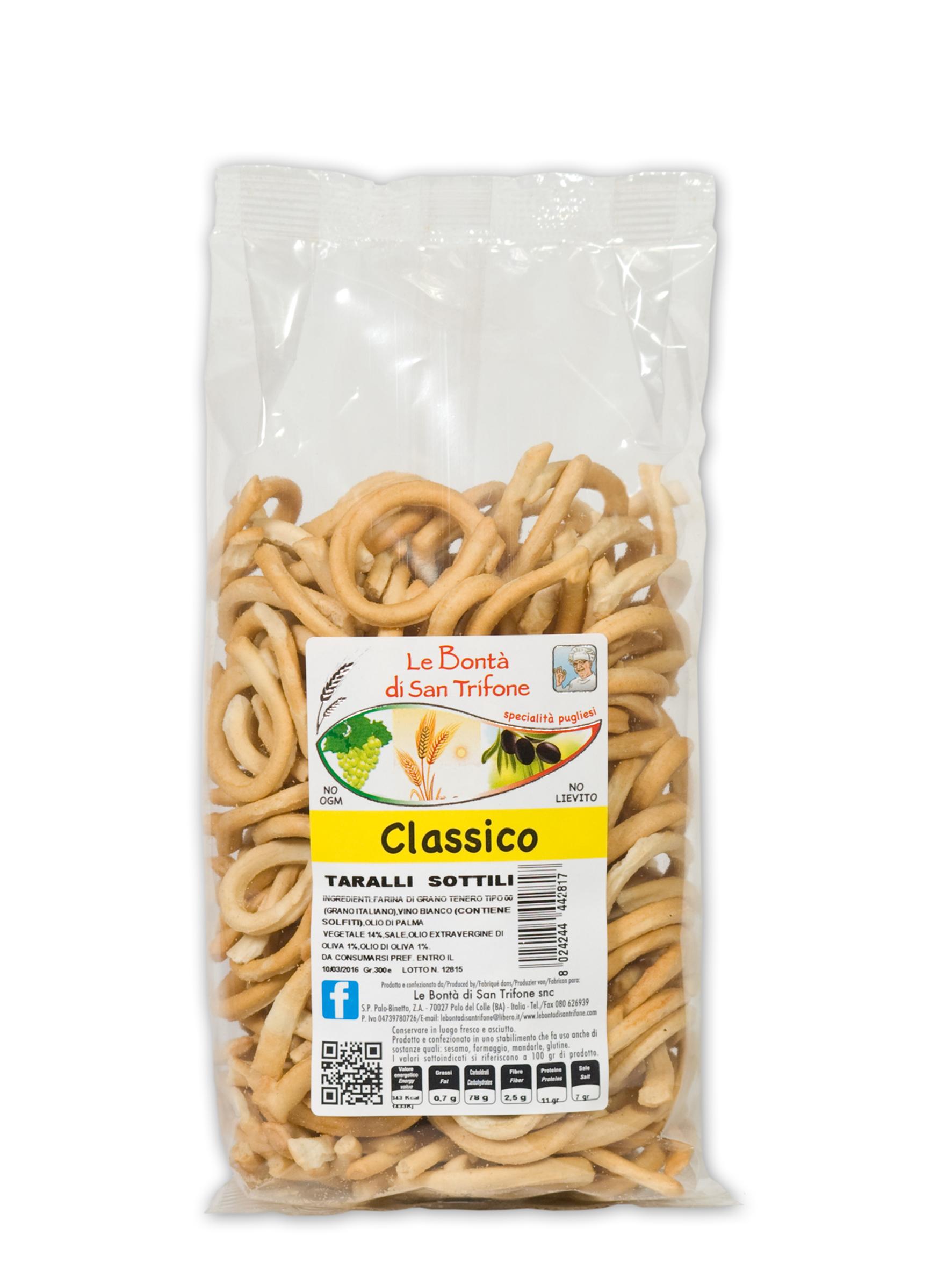 Taralli Sottili (gusto classico)