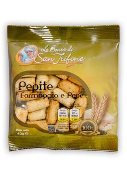 Taralli Pepite (formaggio & pepe)