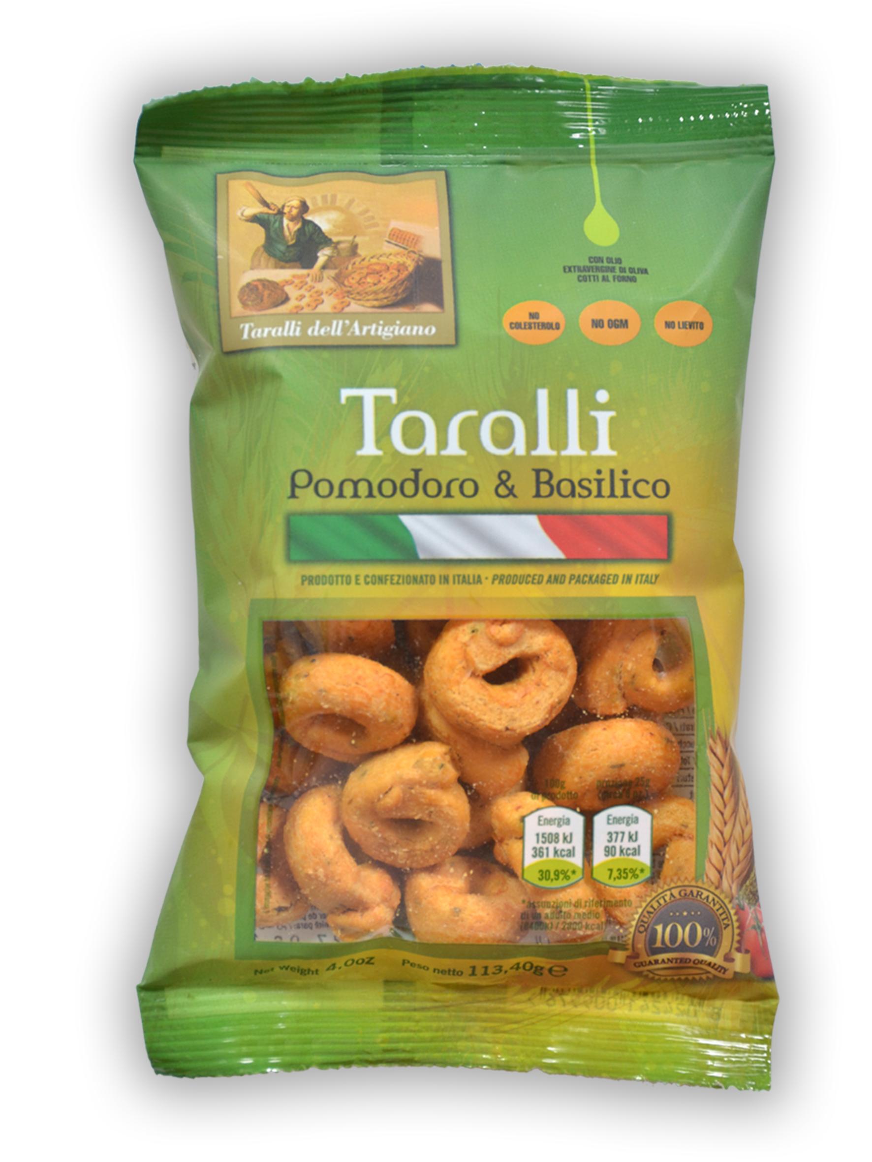 Taralli Friabili (pomodoro&basilico)