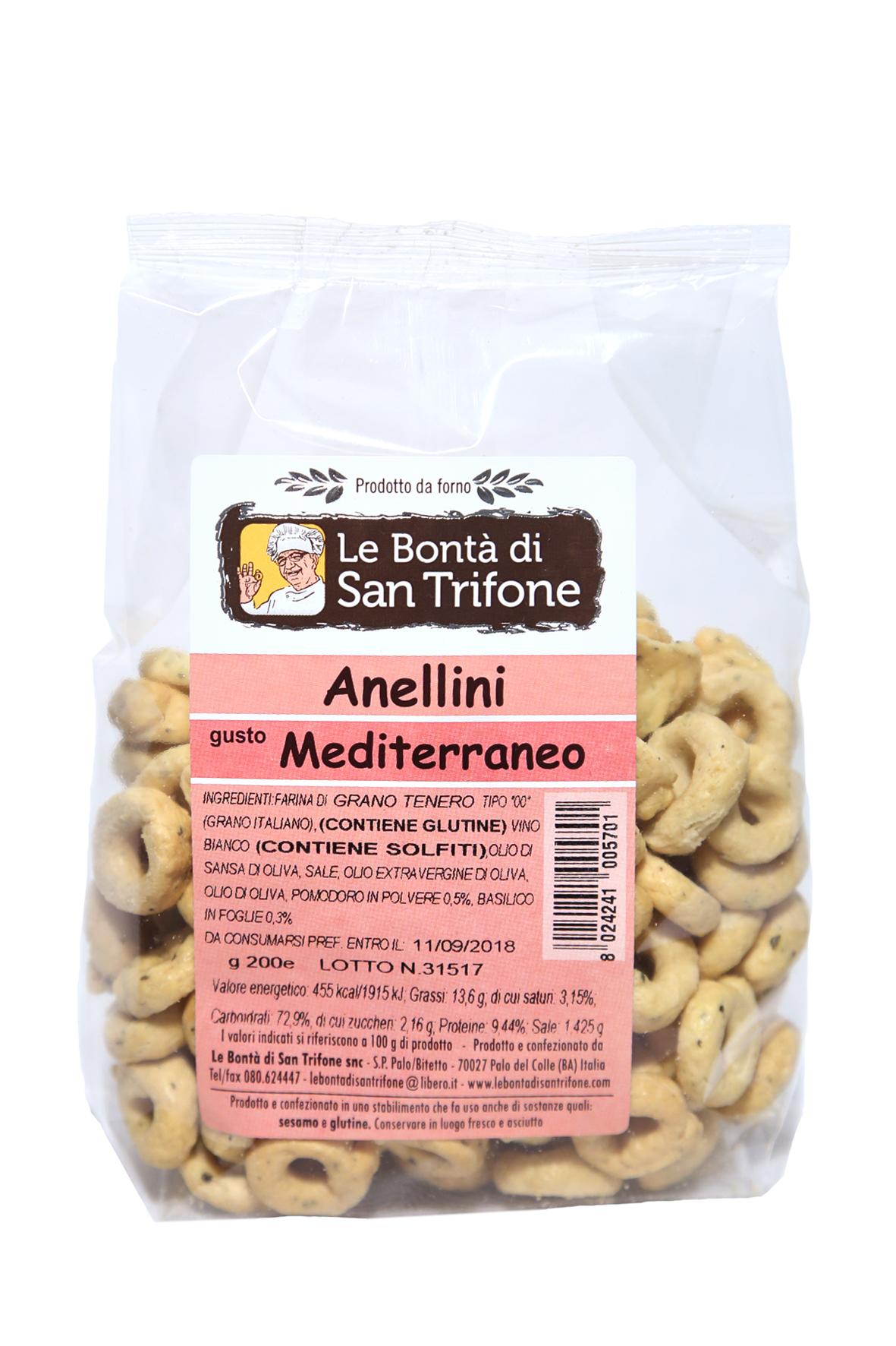 Anellini (gusto mediterraneo)