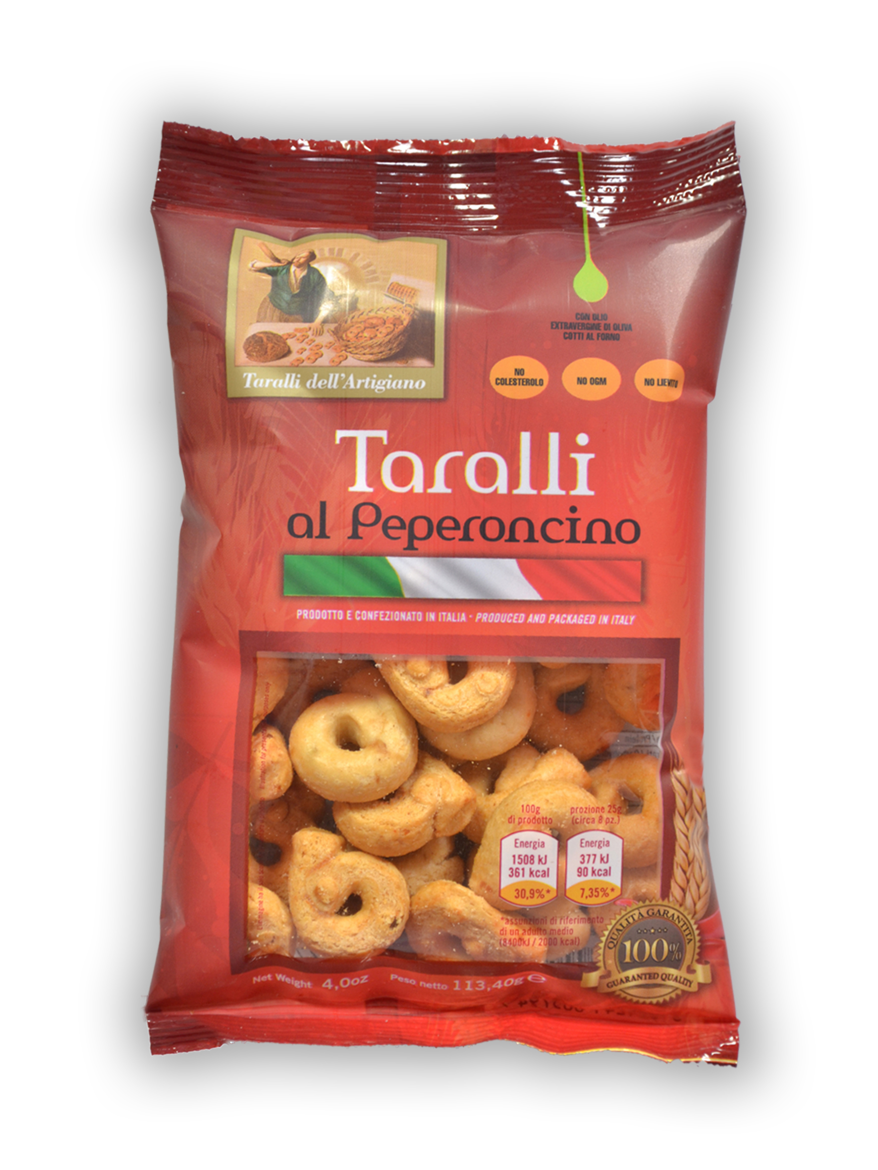 Taralli Friabili (with chili pepper)