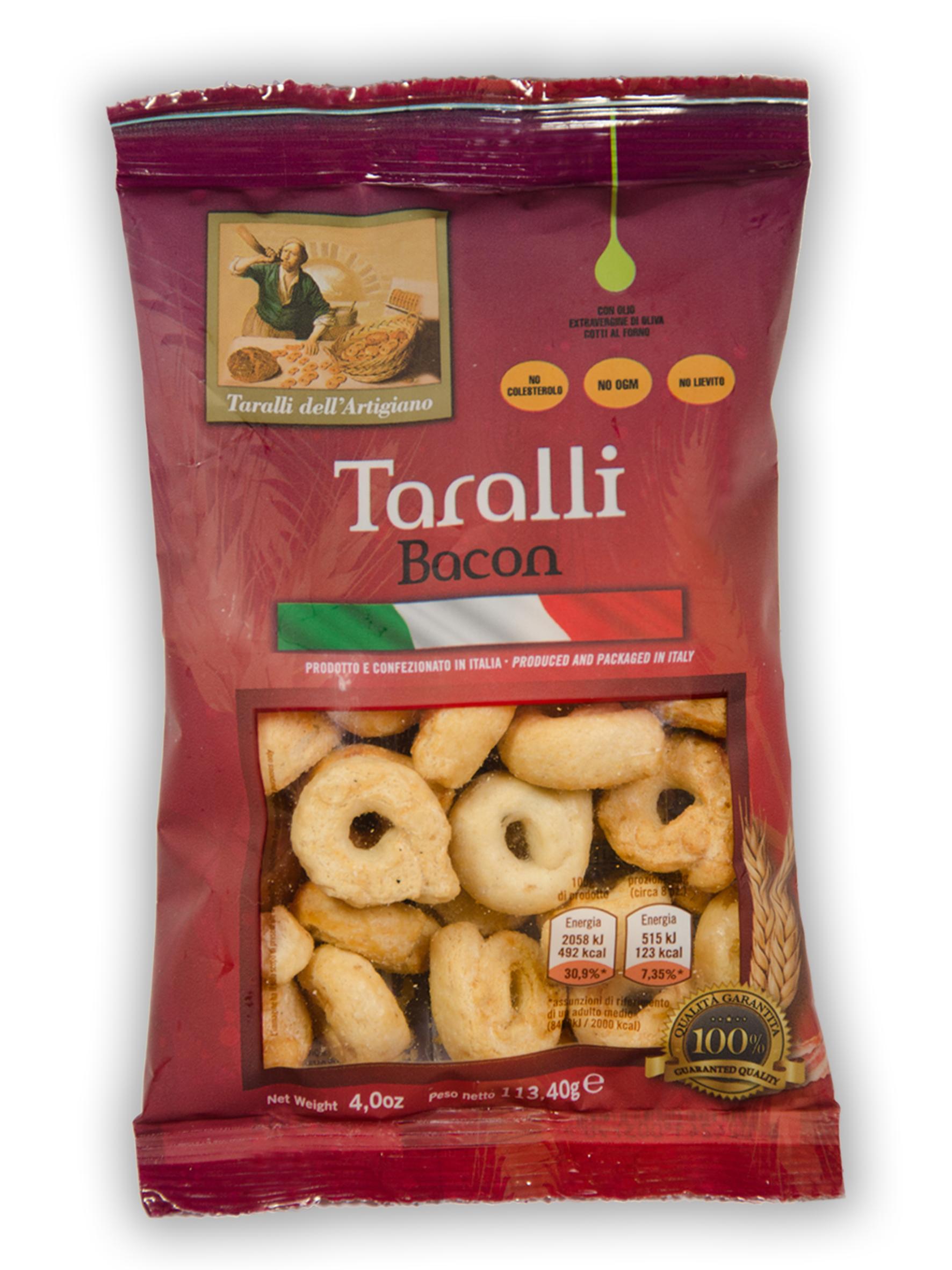 Taralli Friabili (gusto bacon)