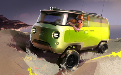 UAZ project BUKHANKA