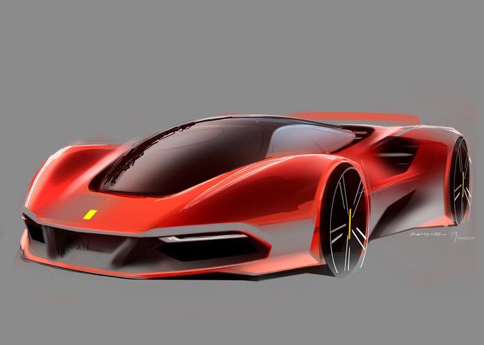 Ferrari midengine