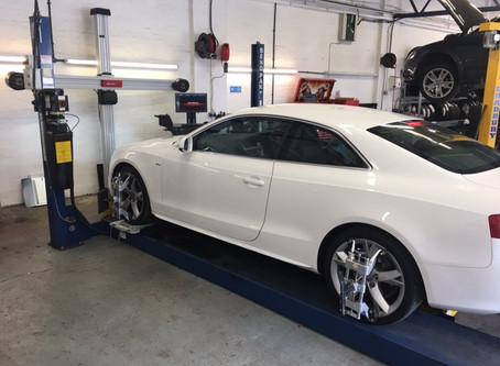3D 4 wheel alignment system