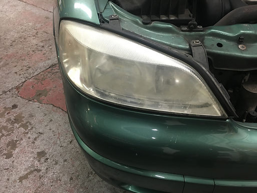Headlight refurbishment
