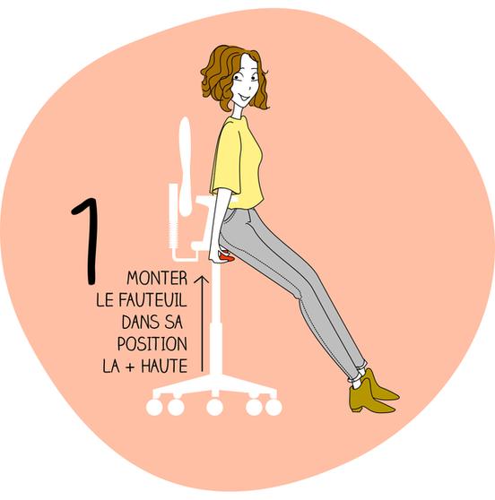 Adapter son siège en 6 étapes