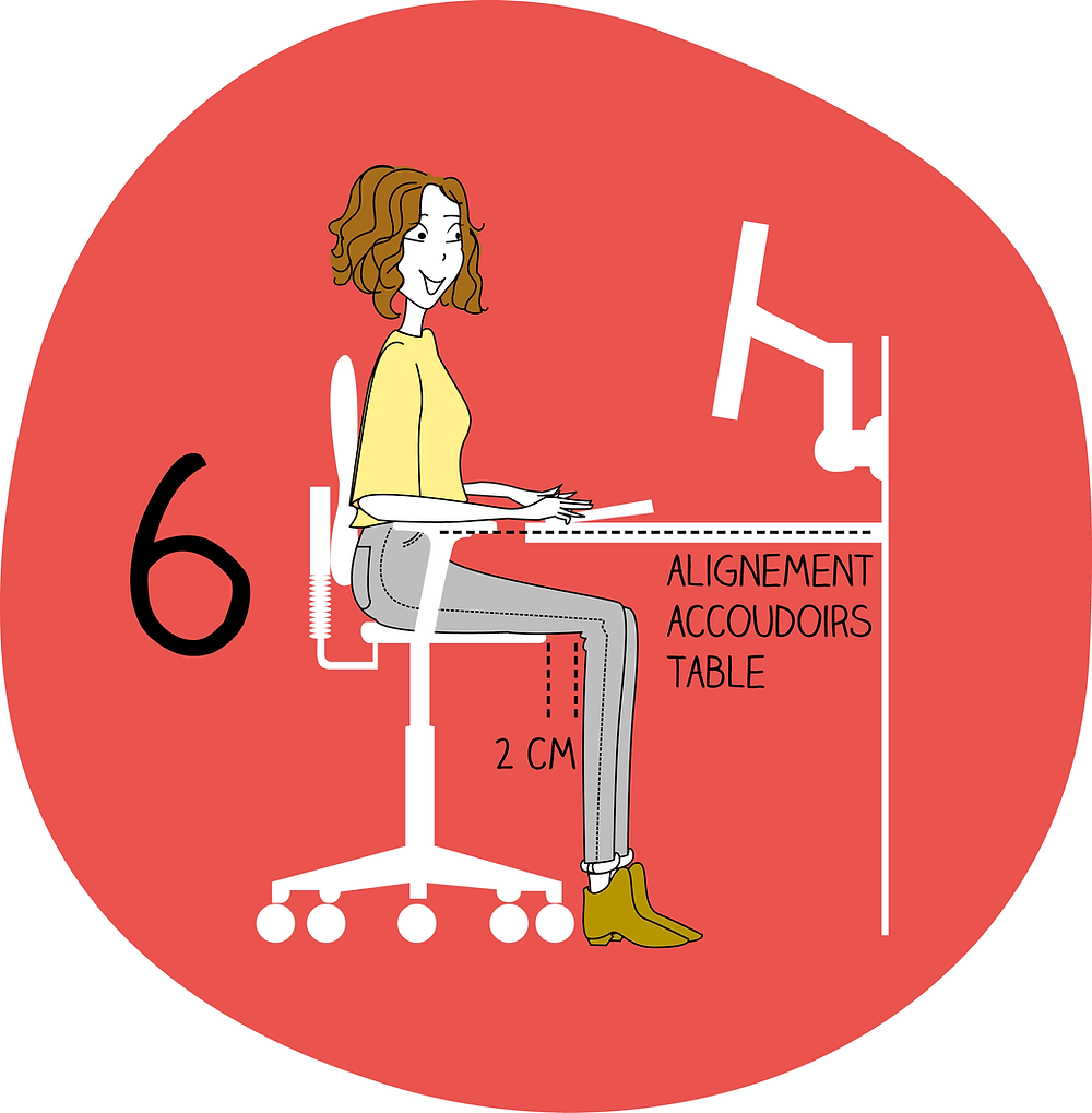 Adapter son siège étape 6