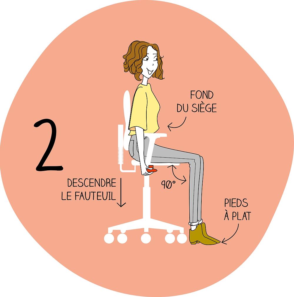 Adapter son siège étape 2