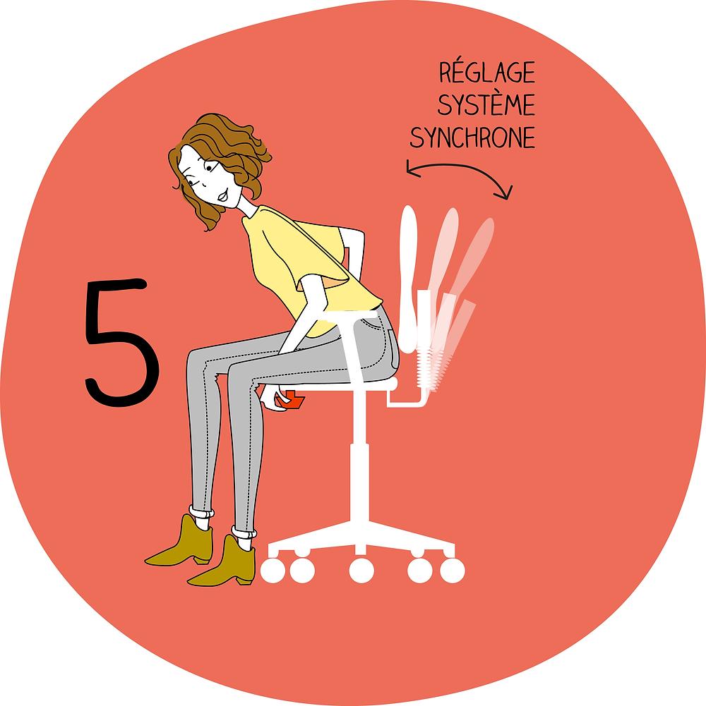 Adapter son siège étape 5