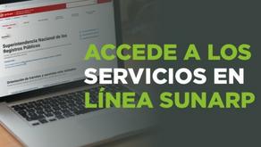 Sunarp: usuarios pueden realizar sus trámites registrales sin salir de casa