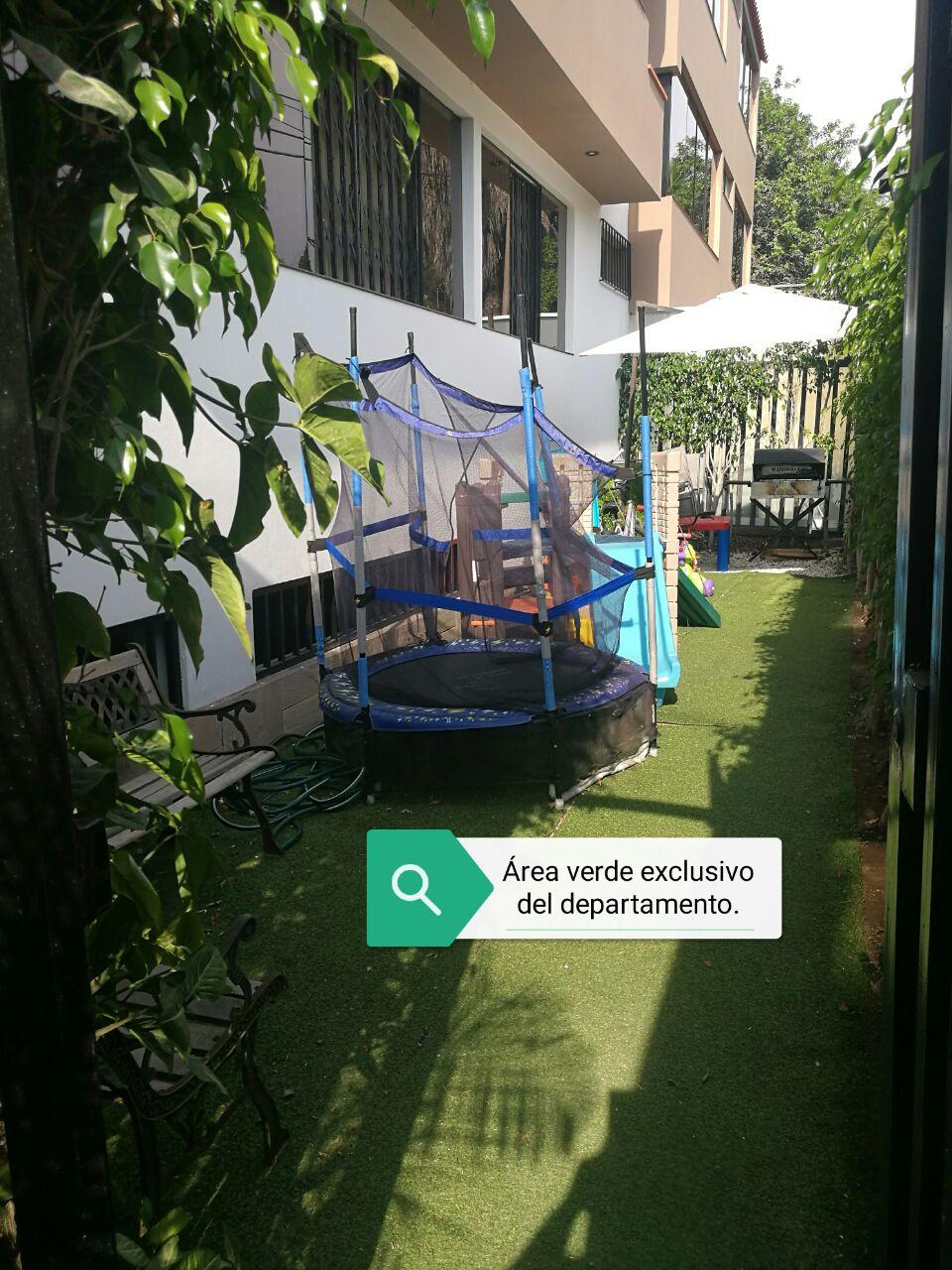 Area verde del departamento