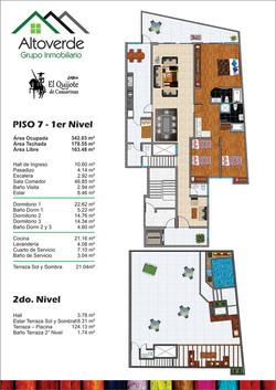 Plano Duplex Piso 7 y 8