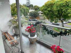 Balcon y Vista desde Departamento