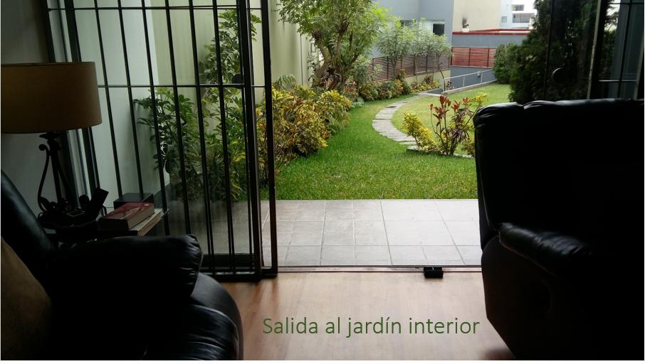Salida a Jardin Interior