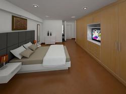 Dormitorio Principal 3D