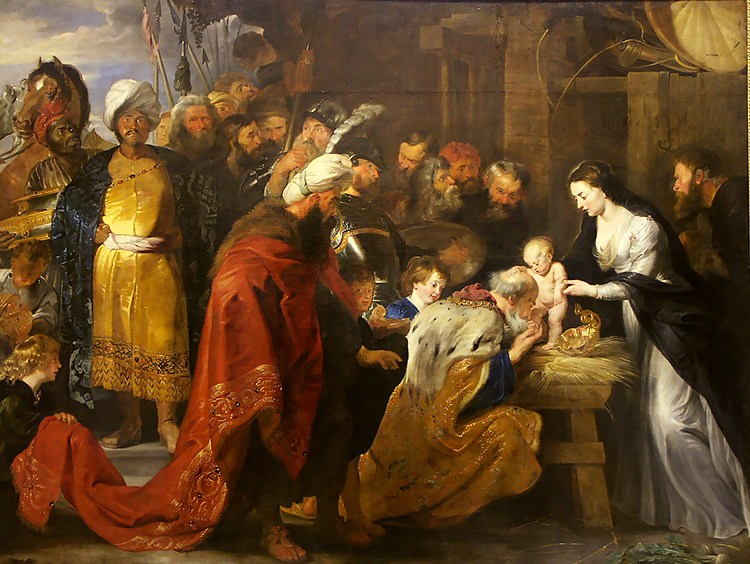 Adoration of the Magi by Peter Paul Rube