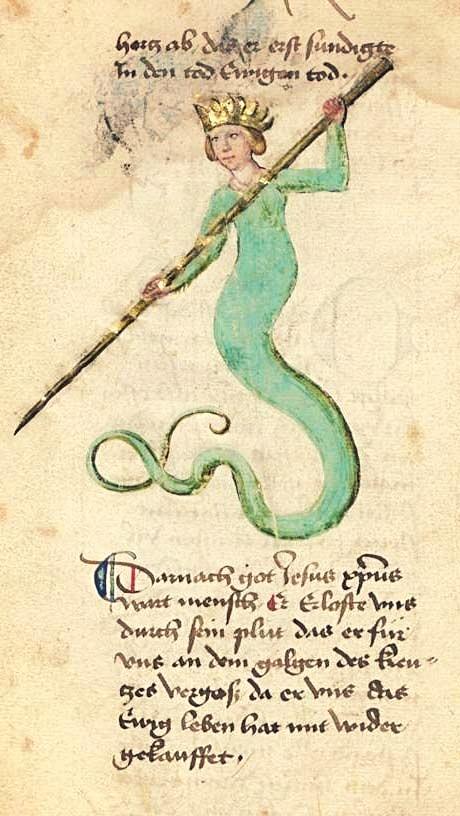 Bayerische Staatsbibliothek, BSB Cgm 598, detail of image 166. Buch der heiligen Dreifaltigkeit (Book of the Holy Trinity)