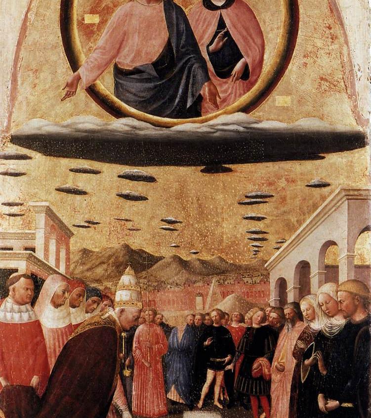Founding of S. Maria Maggiore, by Masolino da Panicale, 1420s