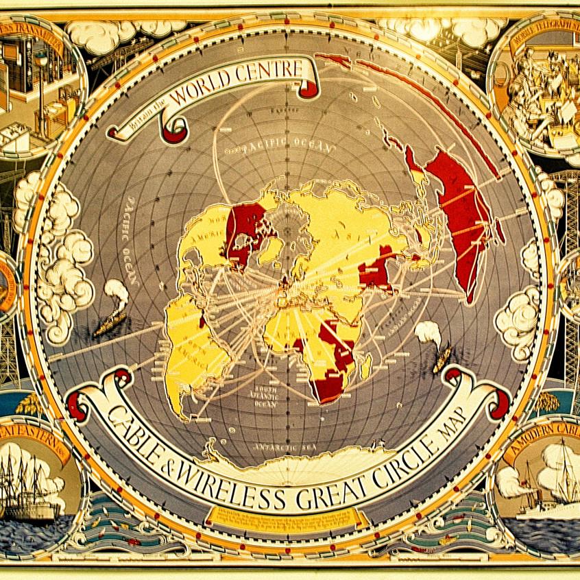 Britain-the-world-center