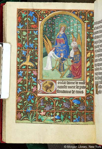 Book of Hours France, Rouen or Orléans,