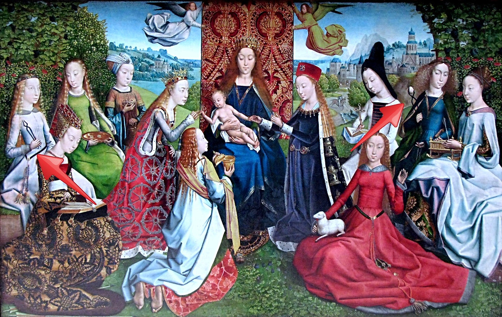 Master of the Legend of Saint Lucy