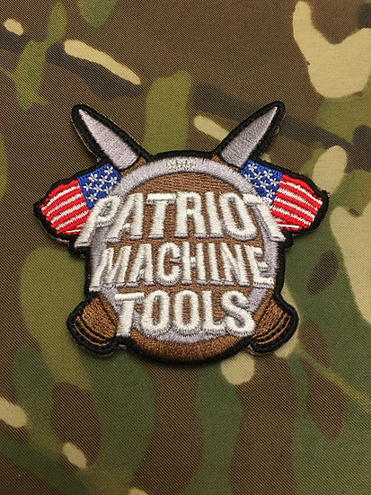 Patriot Machine Tools Velcro Patch