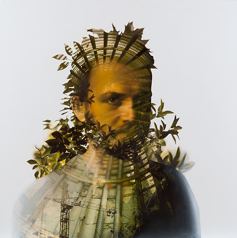 Integrity - 100x100 cm mixed media on canvas - 2015