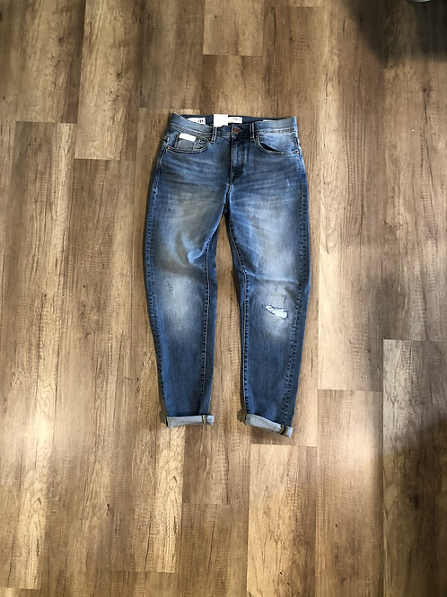 Jeans Selected Lavaggio Medio Slim Tapered