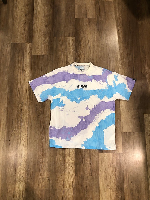 T-shirt Berna Over Tie Dye Logo