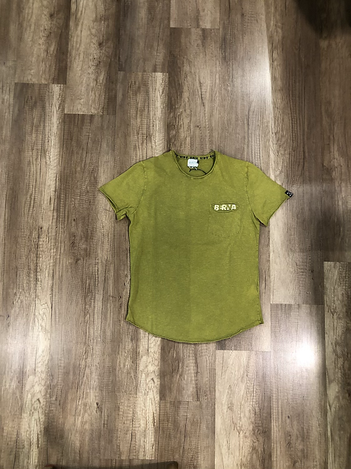 T-shirt Berna Vintage Verde