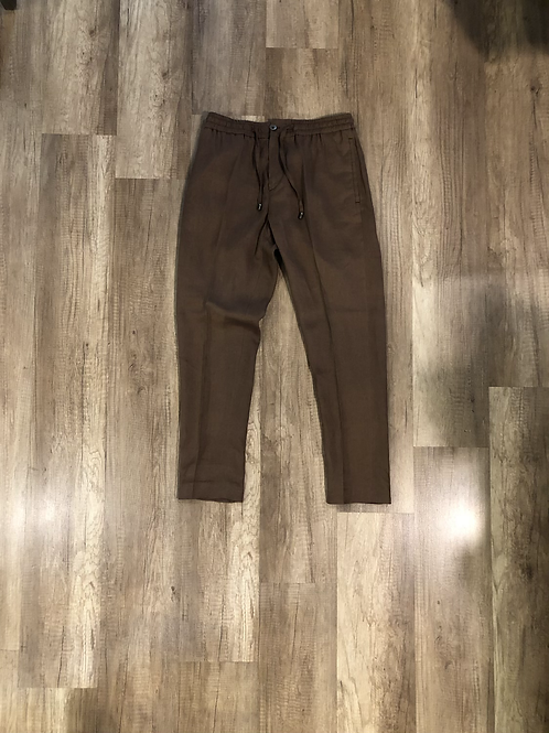 Pantalone Outfit Marrone con Culisse