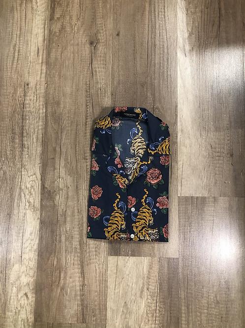 Camicia Outfit Rose e Tigri
