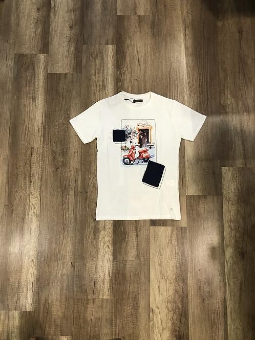 T-shirt Outfit Fantasia Vespa