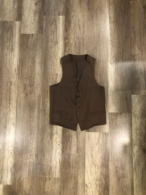 Gilet Outfit Cacao