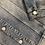 Thumbnail: Giacca Denim Selected Colletto Marrone