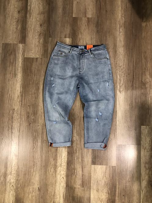 Jeans Bl11 Cropped Lavaggio Chiaro