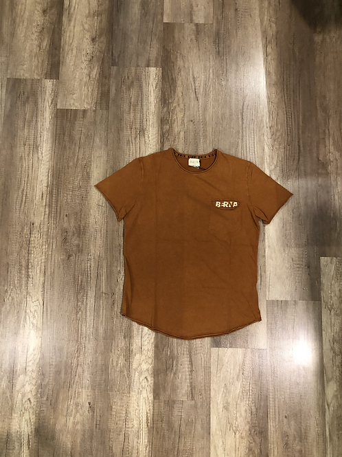 T-shirt Berna Vintage Arancio