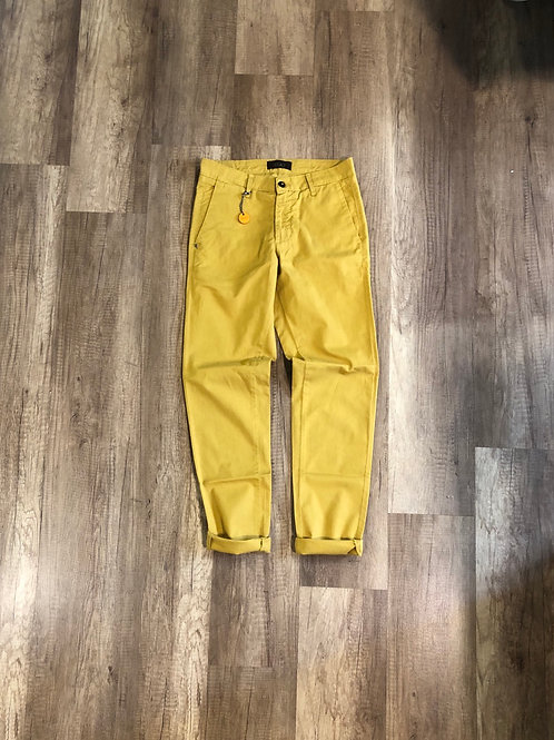 Pantalone Squad Giallo Slim Fit