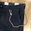 Thumbnail: Pantalone Chino Berna Blu Catena Slim Fit