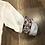 Thumbnail: Camicia Bianca Dettagli Damascati Slim Fit